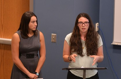 LMU Students Share Collaborative Research Project Updates