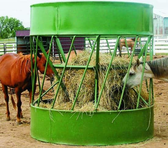 Economics of Round Bale Feeders Examined – The Horse