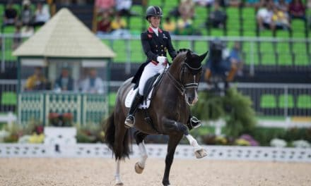 Dujardin, Germans Lead Olympic Dressage After Day 1