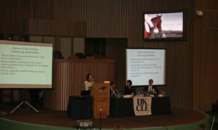 UK Equine Law Conference Held in April