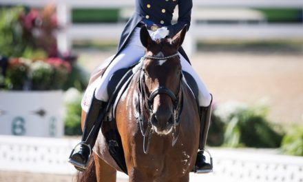 USA Wins Bronze in Dressage Team Competition