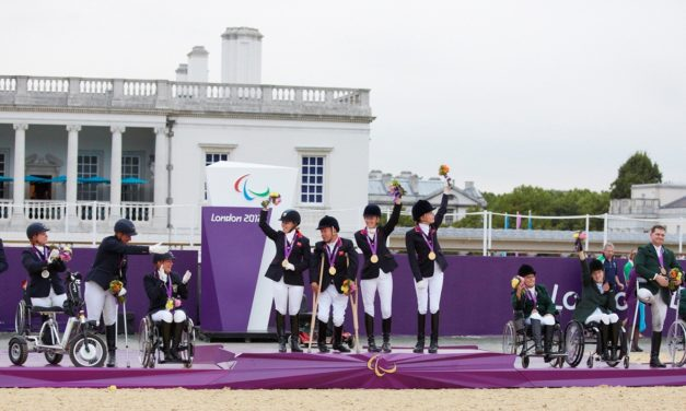 Para-Equestrians Prepare to do Battle for Paralympic Medals