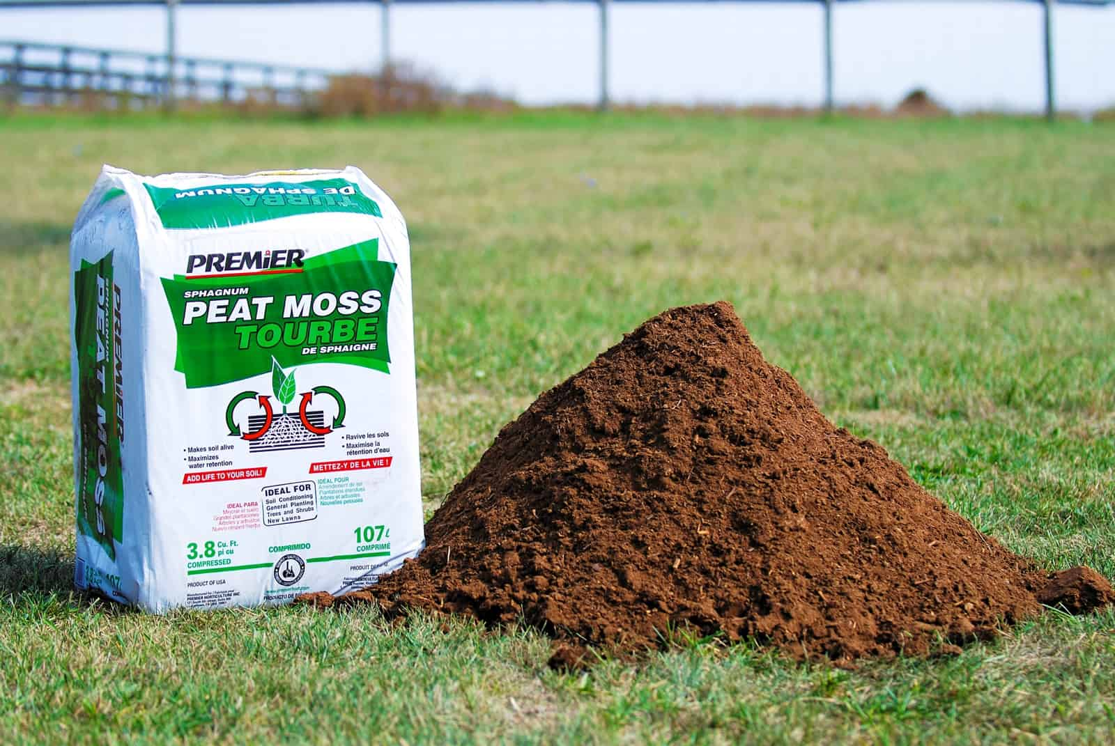 Need A New Bedding Choice Consider Peat Moss The Horse