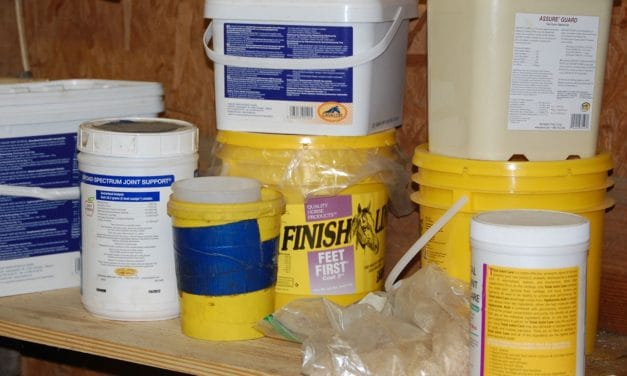 Understanding 'PPM' on Horse Feed Labels