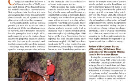 Cardiopulmonary/Exercise Concerns for Horses