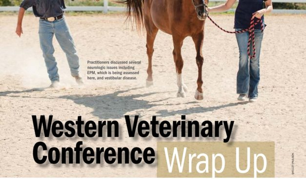 2013 Western Veterinary Conference Wrap Up