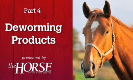Deworming Part 4: Products
