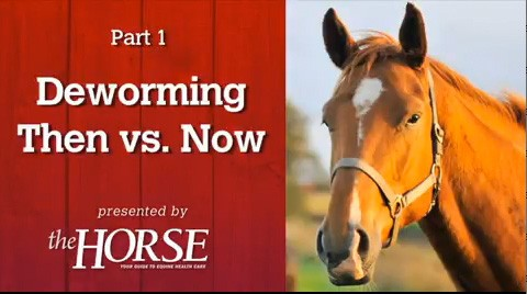 Deworming, Part 1: Then vs. Now