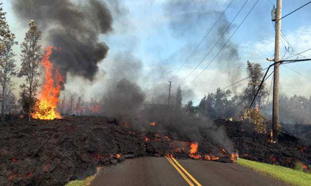 Volcanic Eruption Forcing Horse Evacuations in Hawaii