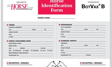 Horse Identification Form