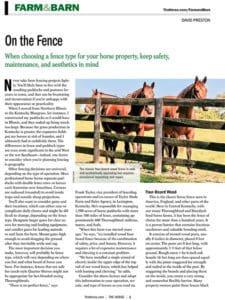Farm & Barn: On the Fence