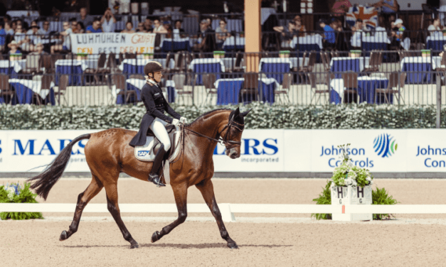 2018 WEG Eventing: Germany Holds Lead After Dressage