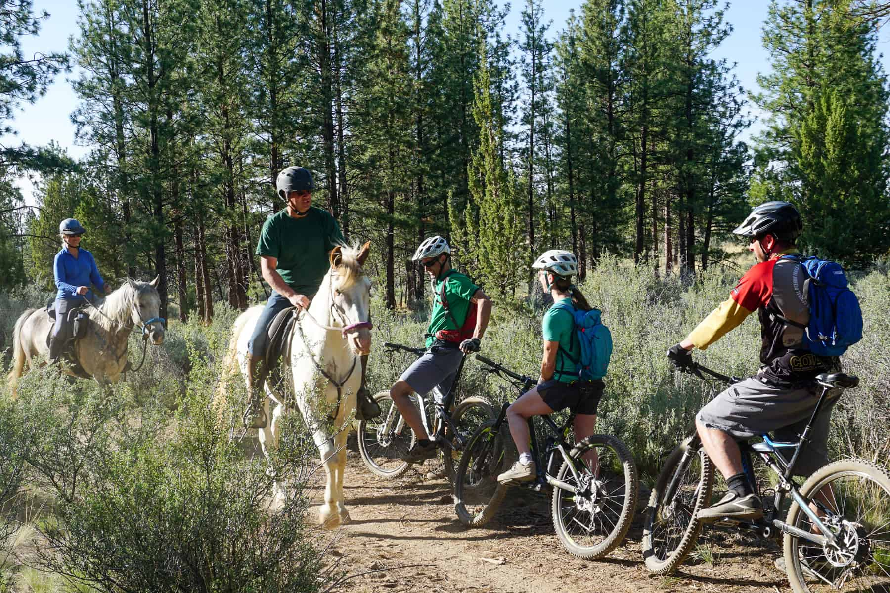 Trail-Sharing Tips