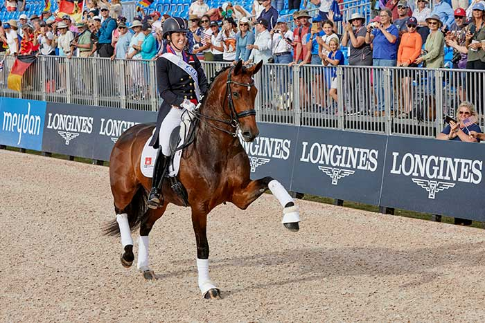Dujardin Eliminated From European Championships Due to Blood