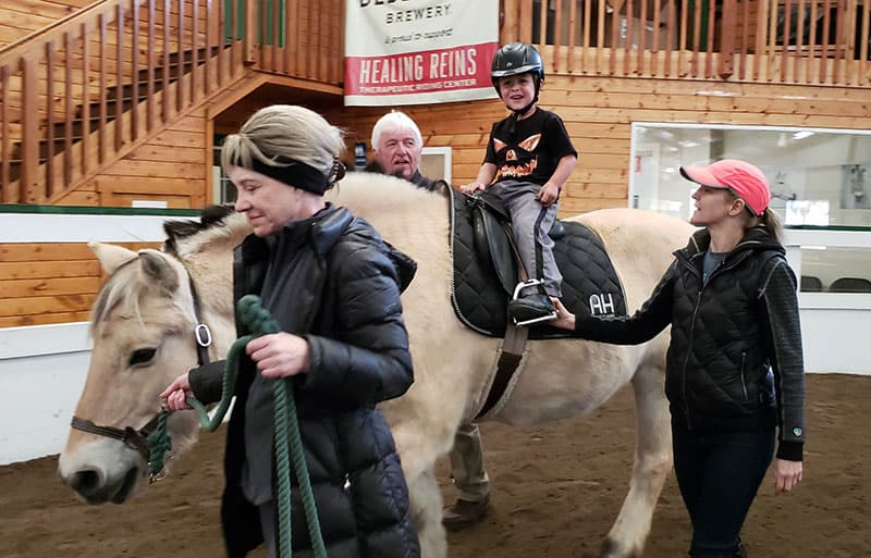 Study: Horseback Riding Helps Kids With Autism, ADHD