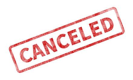 COVID-19 Equestrian Event Cancellations