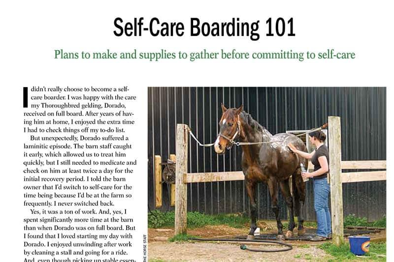 Self-Care Boarding 101