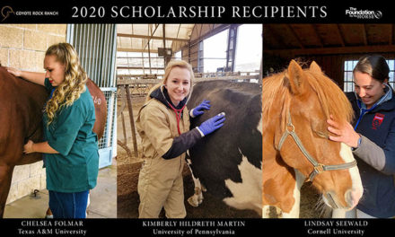 2020 Coyote Rock Ranch Scholarship Recipients Announced
