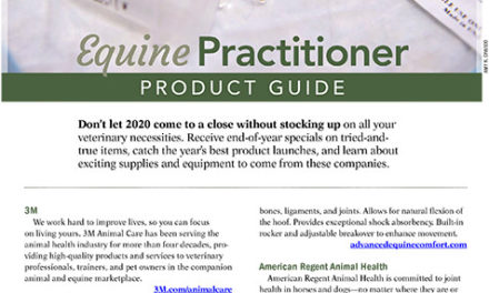 2020 Equine Practitioner Product Guide: Part 1
