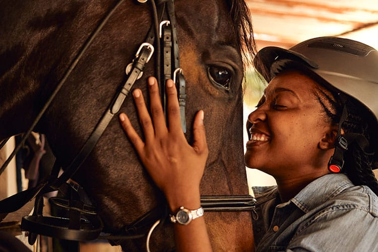 Do You 'Baby Talk' to Your Horse? She Hears You