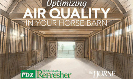 Infographic: Optimizing Air Quality in Your Horse Barn