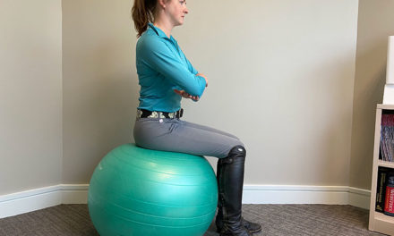 Exercise Balls Predict Good Horseback Riding Skills