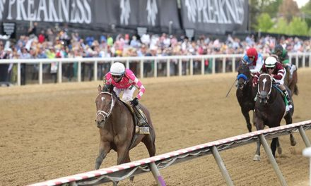 Rombauer Wins the Preakness