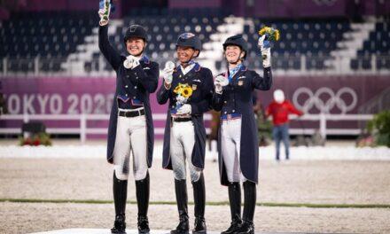 Tokyo Olympics: U.S. Dressage Team Wins Silver