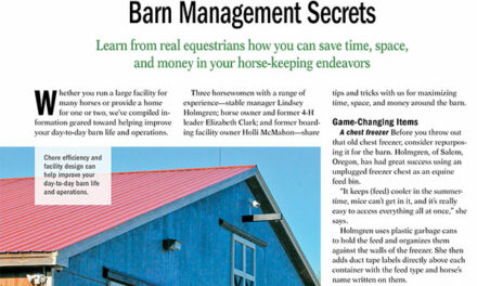 Barn Management Secrets